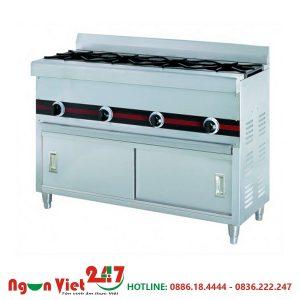 Bếp âu 4 kiềng dùng gas WTA-410