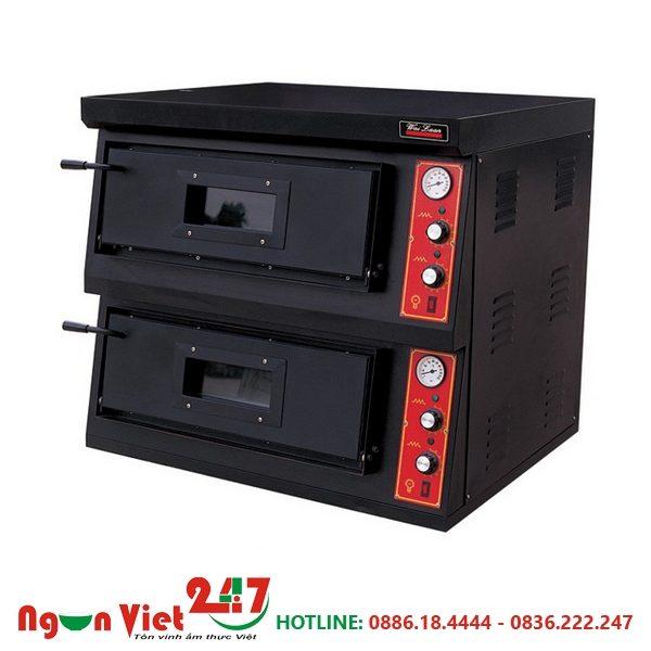 Lò nướng pizza 2 tầng dùng điện DR-2-4