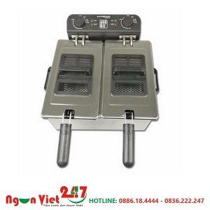 Bếp chiên nhúng đôi dùng điện CN-02