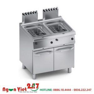 Bếp chiên nhúng đôi dùng gas CN-03