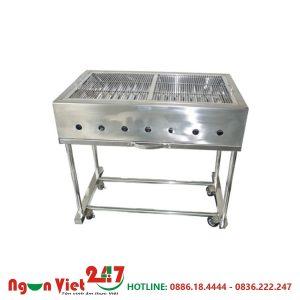Bếp nướng inox bằng than nhân tạo