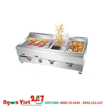 Bếp chiên rán nhúng dùng gas BCR-08