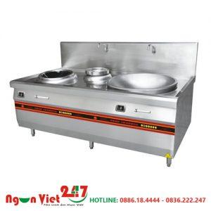 Bếp từ công nghiệp kèm bếp á