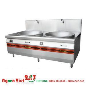 Bếp từ đôi lõm 2 vòi nước BT-05