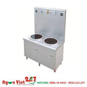 Bếp từ đôi phẳng 2 vòi nước BT-04
