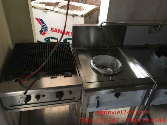 Bếp Á 1 họng 1 vòi nước